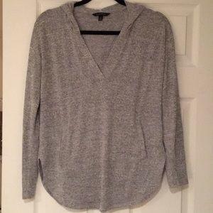 Banana republic luxespun knit hoodie, xs